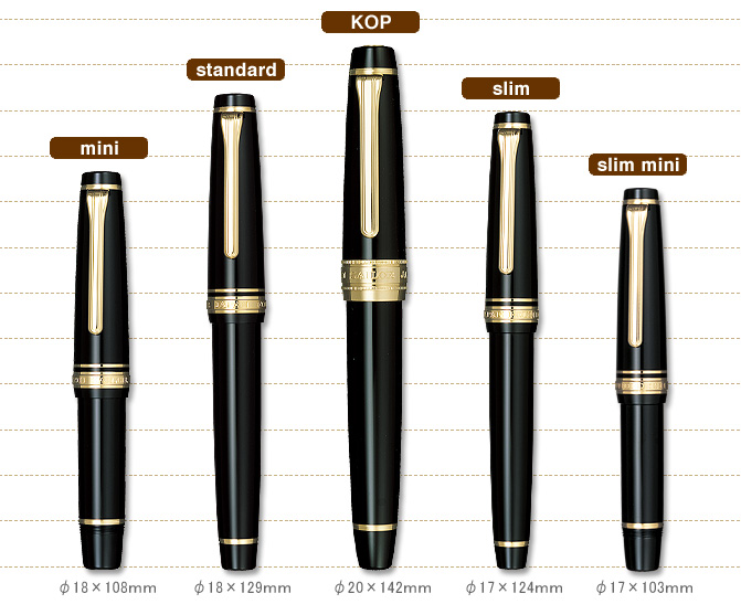New Sailor Professional Gear Sigma Realo Fountain Pen By
