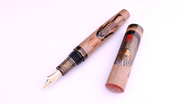 AGJ Maki-e Fountain Pen Tutankhamun01