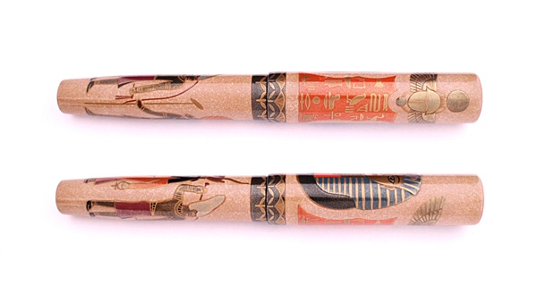 AGJ Maki-e Fountain Pen Tutankhamun03