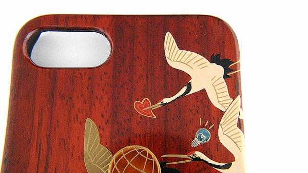 AGJ Maki-e iPhone Case Cranes03