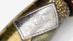 "Photo13: AGJ Original Maki-e Fountain pen #53 ""Koban (Japanese old coin)"" Sailor King of Pen KOP Sparkling Togidashi Taka Maki-e Kyoto Japan Wa (13)"
