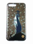 "Photo1: AGJ Original Maki-e iPhone Case Cover ""Peacock"" for iPhone 7 Plus / 8 Plus (1)"