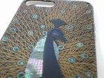 """Photo4: AGJ Original Maki-e iPhone Case Cover """"Peacock"""" for iPhone 7 Plus / 8 Plus (4)"""