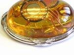 "Photo4: Brooch ""Japanese Drum"" Maki-e(Makie) Japanese Jewelry Amber #H1 (4)"