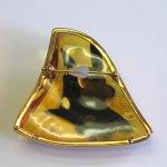 "Photo2: Brooch ""Anubis"" Maki-e(Makie) Japanese Jewelry Amber #H5 (2)"