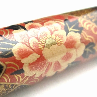 AGJ Original Maki-e Fountain Pen Throwing the folding Japanese fun Kyoto