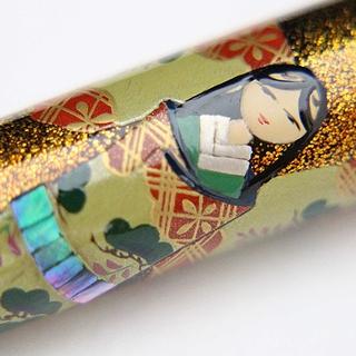 AGJ Original Maki-e Fountain Pen Hinamatsuri Kyoto
