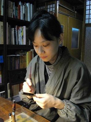 AGJ Maki-e Makie Artist Yuri Urushi lacquer