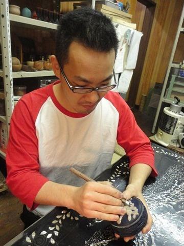 AGJ Choshitsu Artist Gaku Urushi lacquer