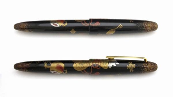 AGJ Maki-e Fountain Pen Takara Zukushi2