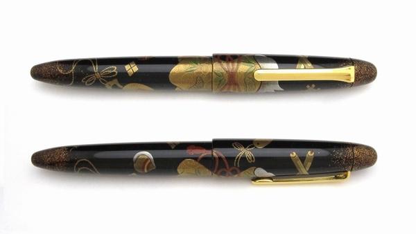 AGJ Maki-e Fountain Pen Takara Zukushi3