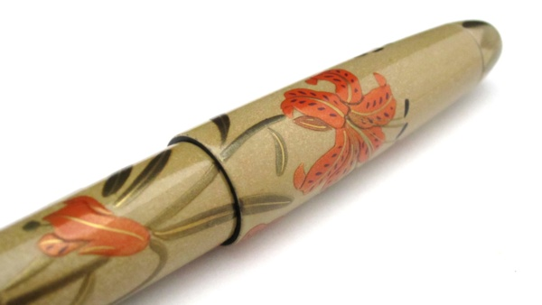 AGJ Maki-e Fountain Pen Tiger lily08
