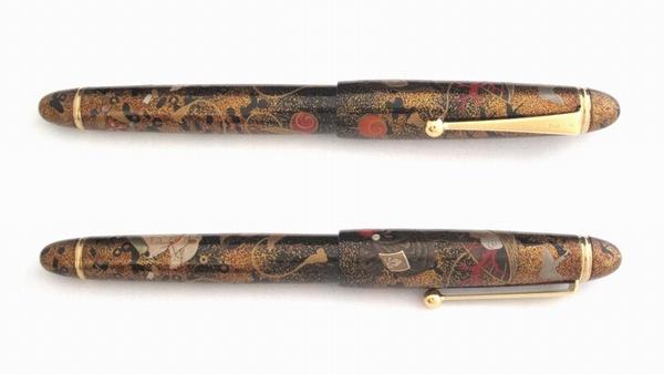 AGJ Maki-e Fountain Pen Treasures3