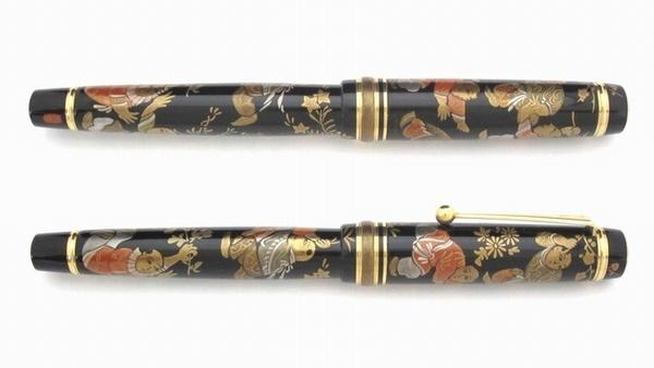 AGJ Makie Fountain Pen Karako02
