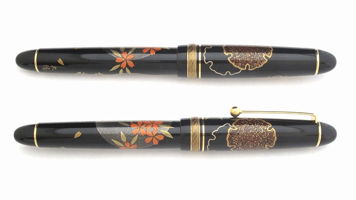 AGJ Maki-e Fountain Pen Setsugekka02