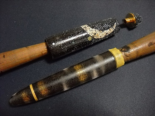 AGJ Maki-e Fountain Pen How to do Bats1