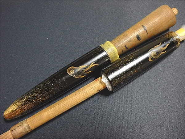 AGJ Maki-e Fountain Pen How to do Skeletons1