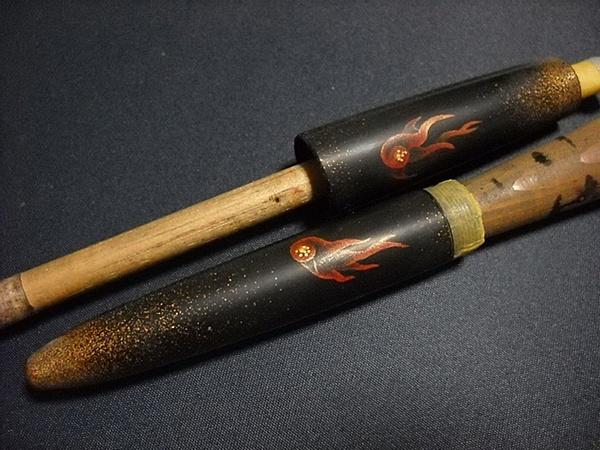AGJ Maki-e Fountain Pen How to do Skeletons4
