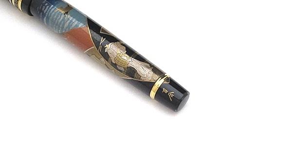 AGJ Maki-e Fountain Pen Hokusai Fuji05