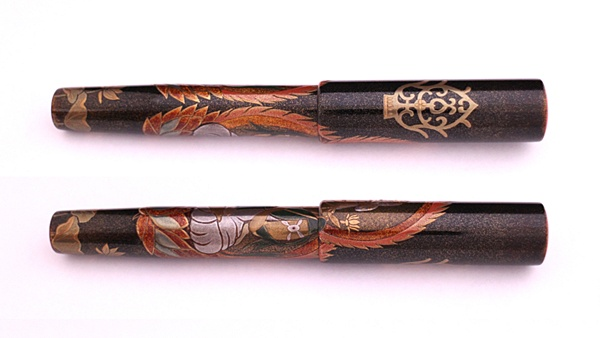 AGJ Maki-e Fountain Pen Buddhist statue03