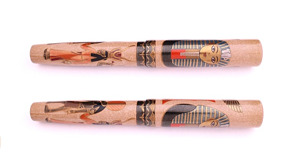 AGJ Maki-e Fountain Pen Tutankhamun02