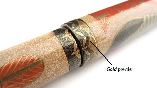 AGJ Maki-e Fountain Pen Tutankhamun09