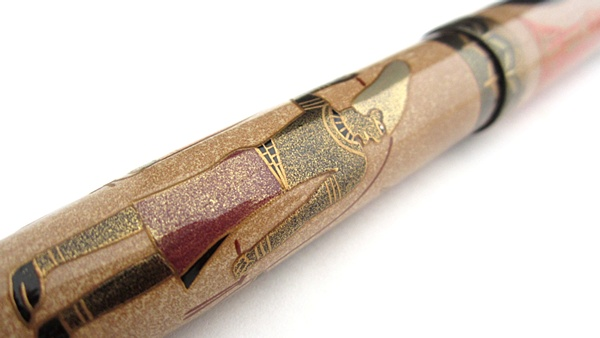 AGJ Maki-e Fountain Pen Tutankhamun10