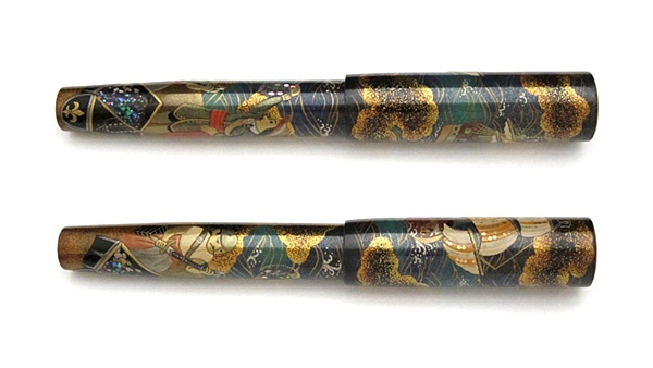 AGJ Maki-e Fountain Pen Pirates02
