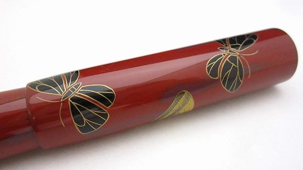 AGJ Maki-e Fountain Pen Butterfly06