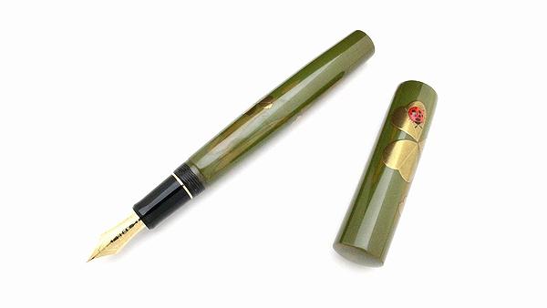 AGJ Maki-e Fountain Pen Ladybug01