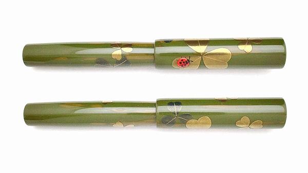 AGJ Maki-e Fountain Pen Ladybug02