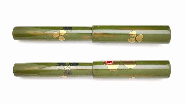 AGJ Maki-e Fountain Pen Ladybug03