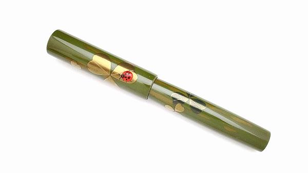 AGJ Maki-e Fountain Pen Ladybug04