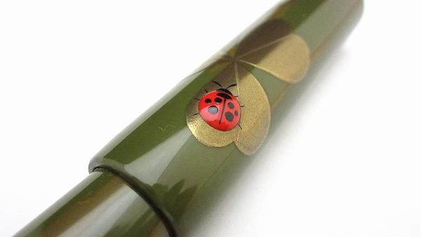 AGJ Maki-e Fountain Pen Ladybug06