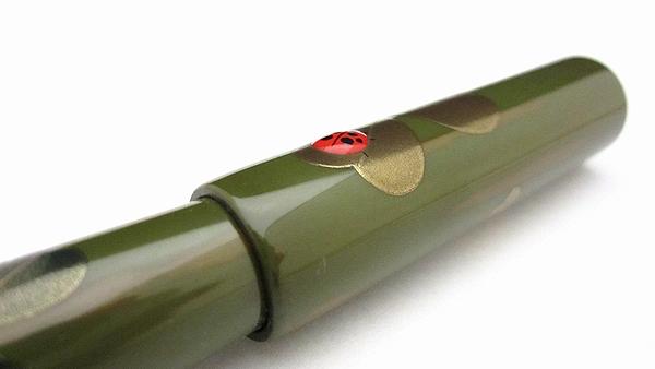 AGJ Maki-e Fountain Pen Ladybug07