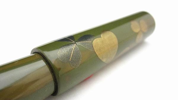 AGJ Maki-e Fountain Pen Ladybug08