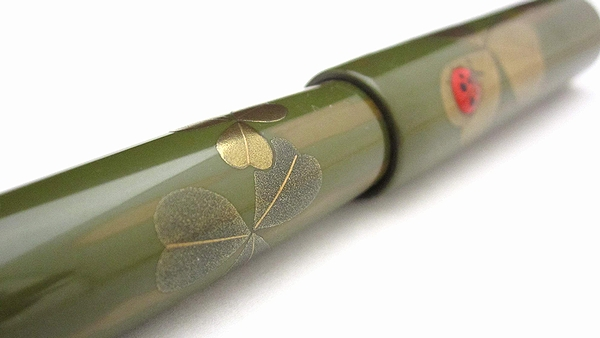 AGJ Maki-e Fountain Pen Ladybug10