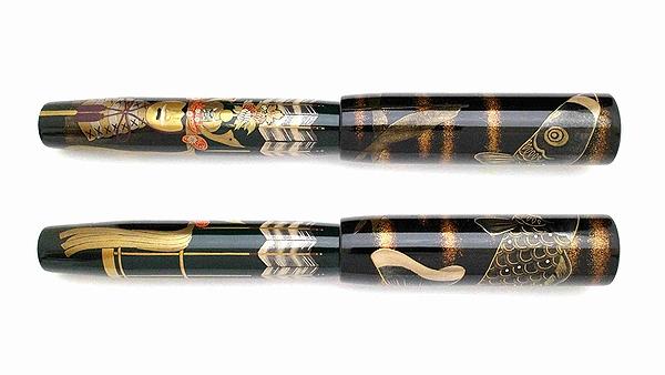 AGJ Maki-e Fountain Pen kabuto02
