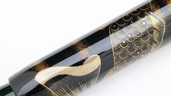 AGJ Maki-e Fountain Pen kabuto05