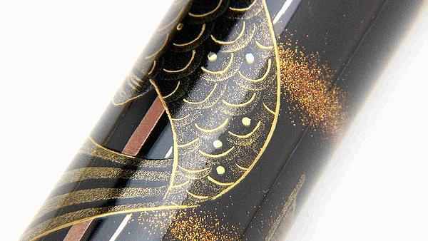 AGJ Maki-e Fountain Pen kabuto06