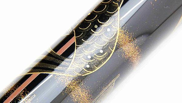 AGJ Maki-e Fountain Pen kabuto07