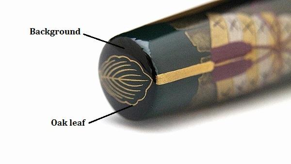 AGJ Maki-e Fountain Pen kabuto16