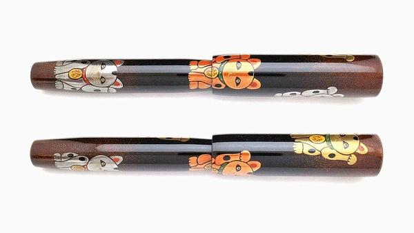 AGJ Maki-e Fountain Pen Manekineko02