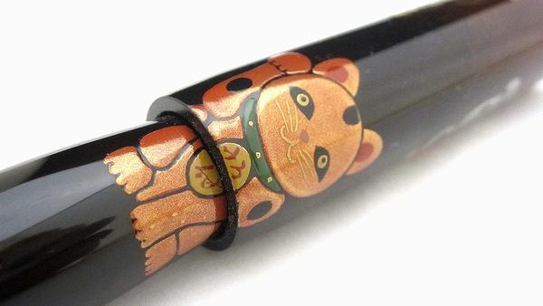 AGJ Maki-e Fountain Pen Manekineko06