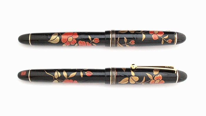 AGJ Maki-e Fountain Pen Camellia02