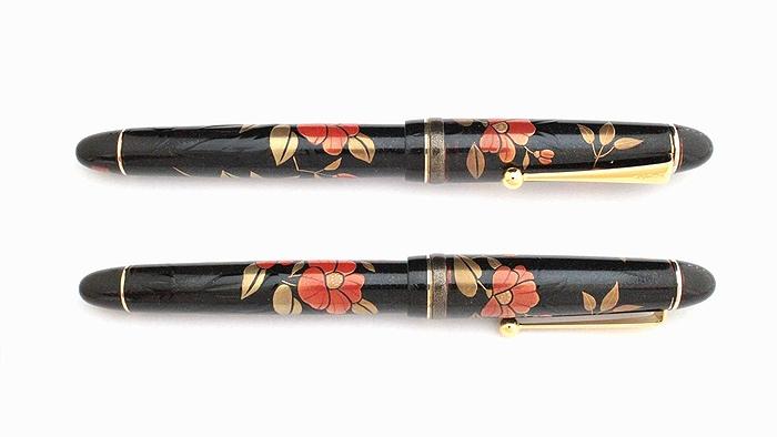 AGJ Maki-e Fountain Pen Camellia03