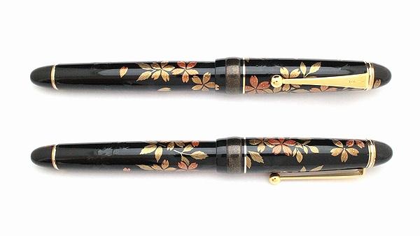 AGJ Maki-e Fountain Pen Cherry Blossom at Night03