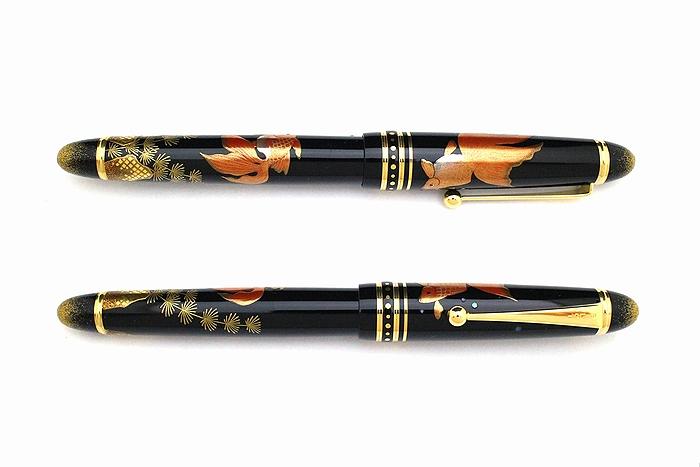 AGJ Maki-e Fountain Pen Goldfish02