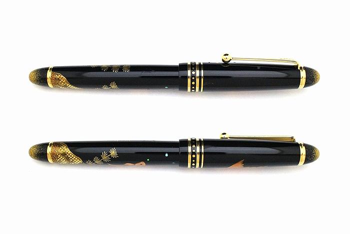 AGJ Maki-e Fountain Pen Goldfish03
