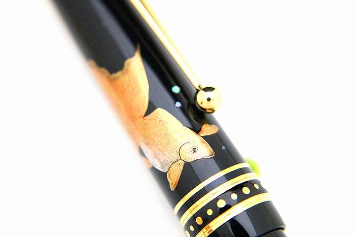 AGJ Maki-e Fountain Pen Goldfish05